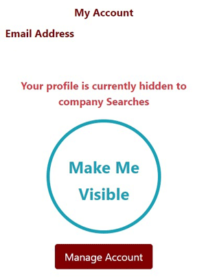 Profile Visibility Dashboard Widget