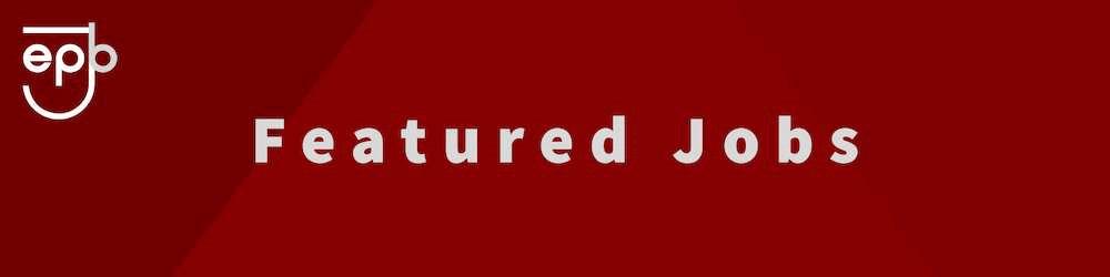 Enter Jobs Featured Job Banner