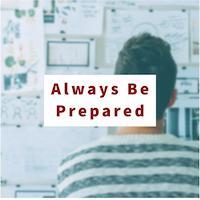 Always Be Prepared Image