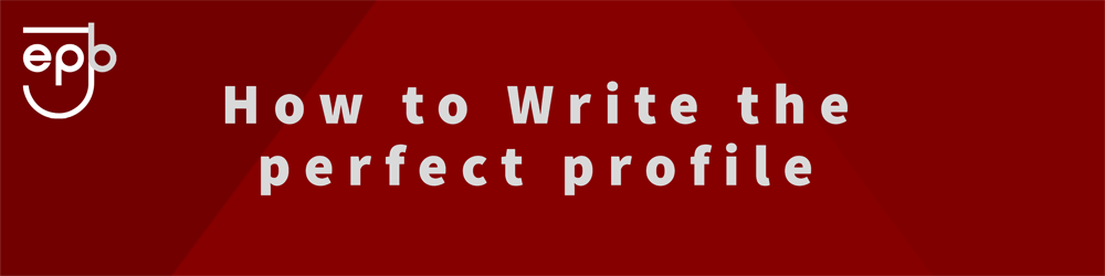 Writing The Perfect Profile Banner